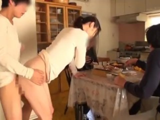 Sexy wives get fucked